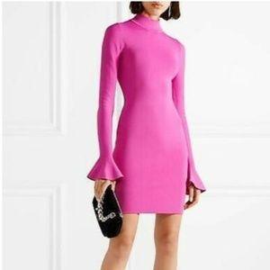 Pink tight-fitting Michael Kors dress